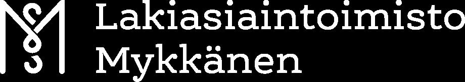 Lakiasiaintoimisto Mykkänen logo